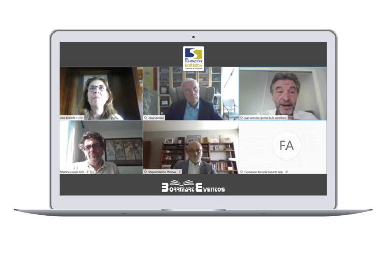 COVID-19 y seguridad encuentro virtual de la Fundación Borredá