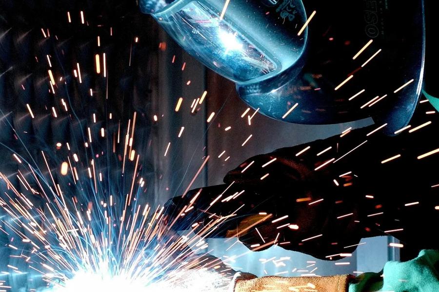 Equipos de protección en el sector del metal.