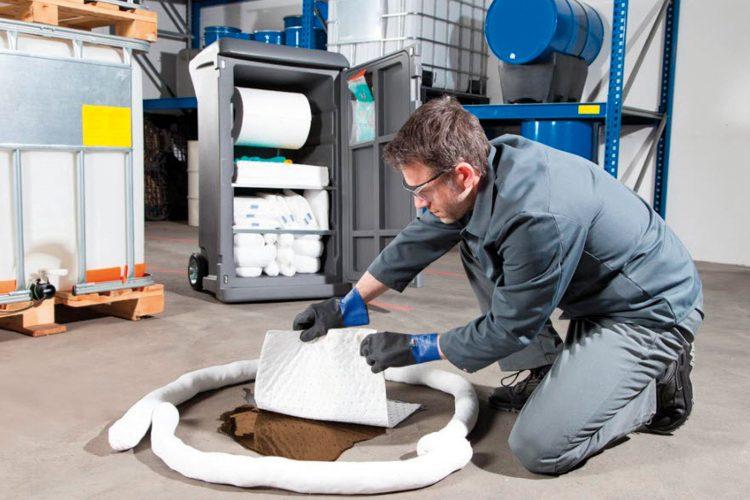Productos químicos en el sector limpieza.