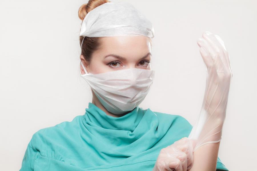 Medidas preventivas en hospitales.