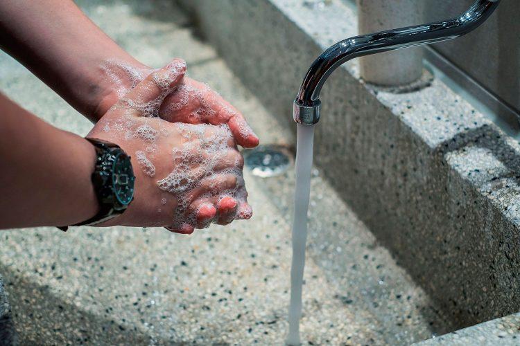 Higiene manos.