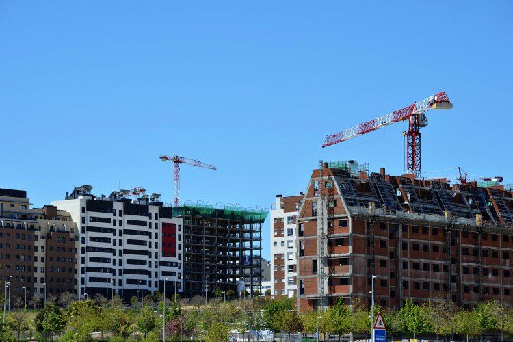 Construcción en España.