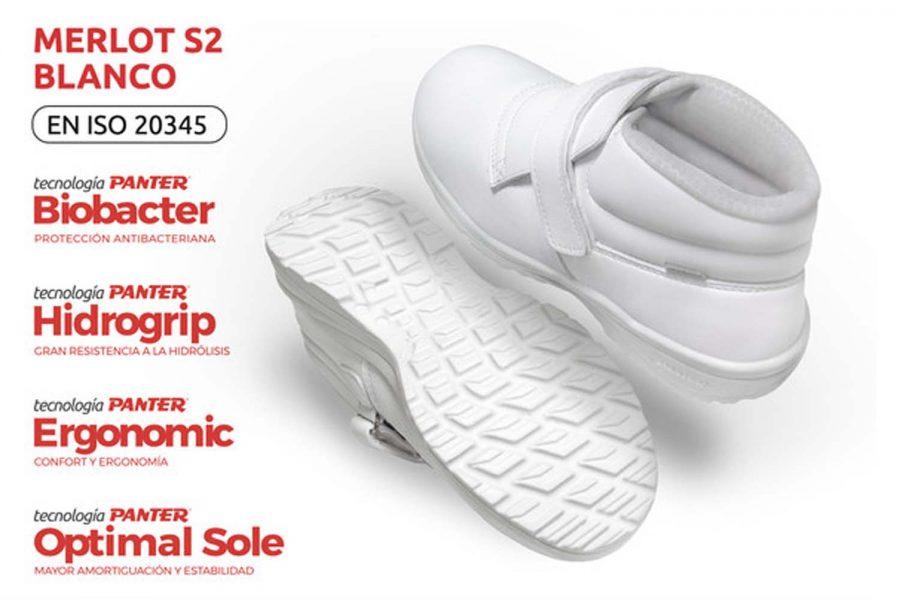 calzado sanitario Panter