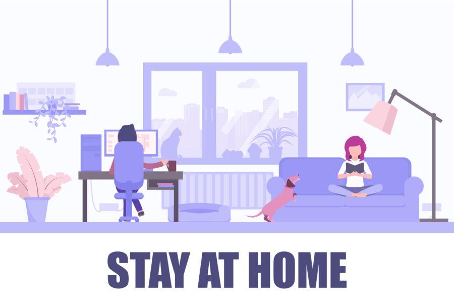 Trabajo en casa.