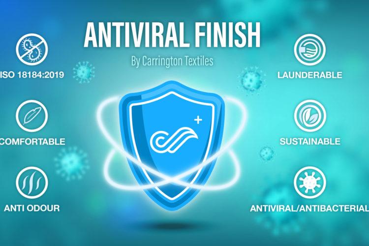 Tela antiviral.