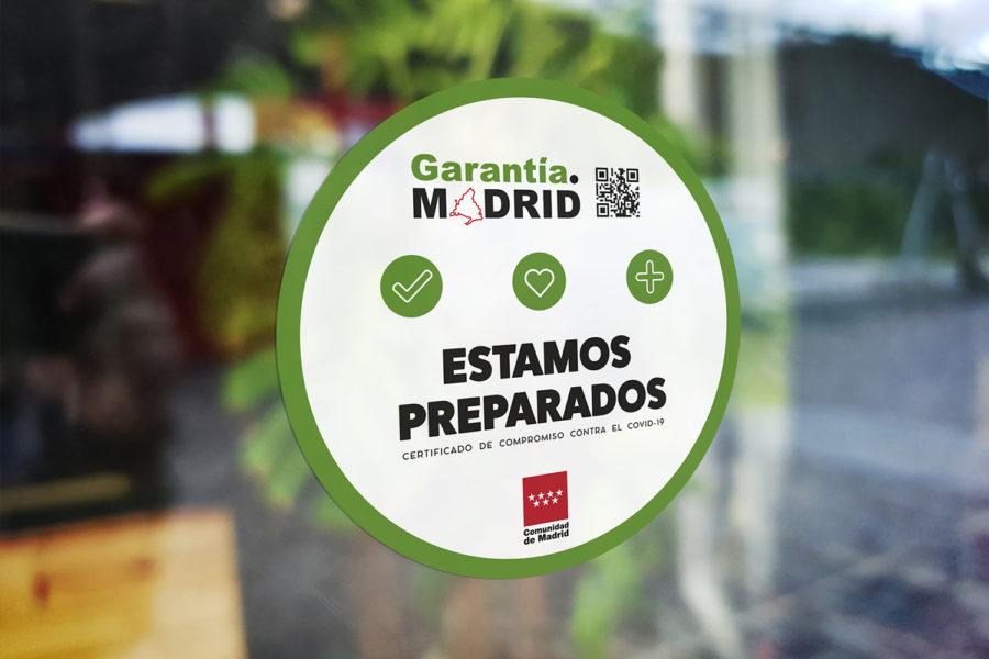 Identificativo garantía madrid.