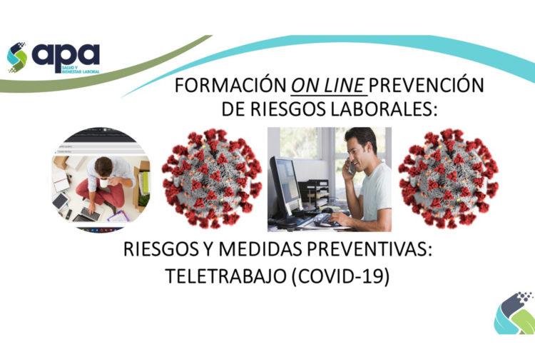 Prevención de riesgos laborales y el teletrabajo.