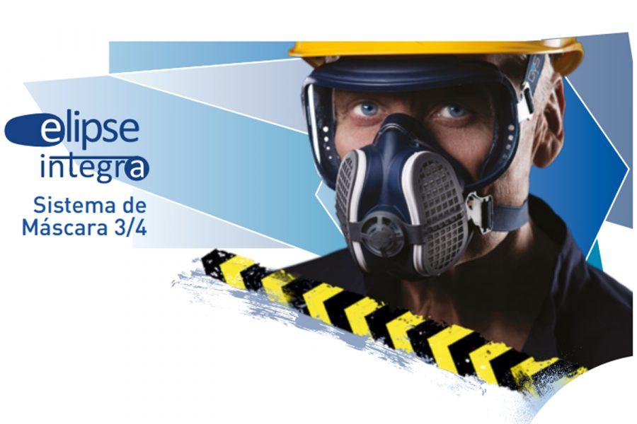 Máscara Elipse Integra con protección respiratoria y ocular de GVS