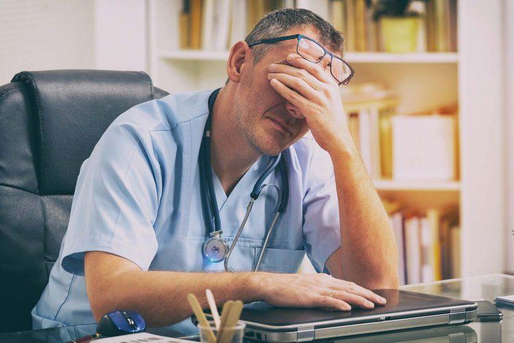 Agresiones en centros sanitarios.