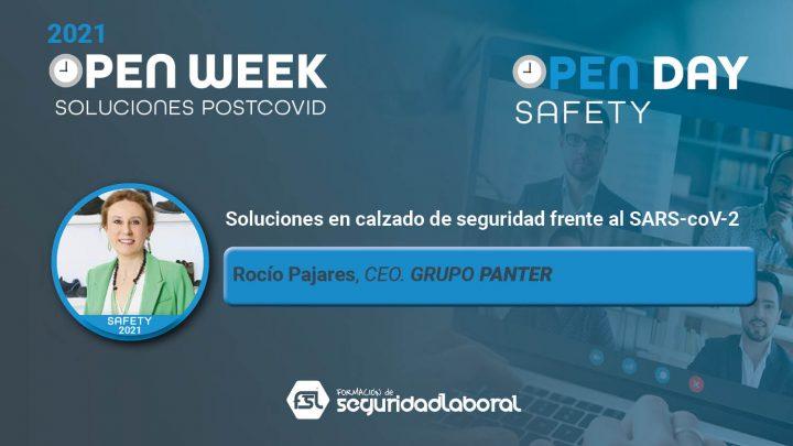 Rocío Pajares, CEO de Grupo Panter. Safety Open Day 2021.