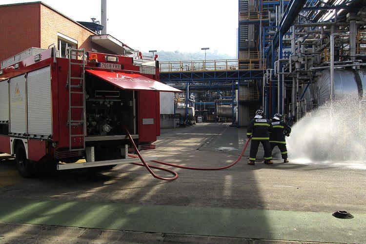 bomberos camión