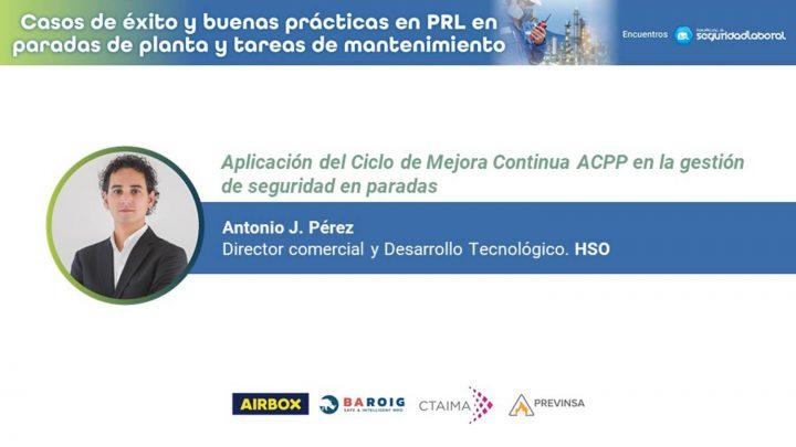 Antonio J. Pérez, director comercial y Desarrollo Tecnológico de HSO.