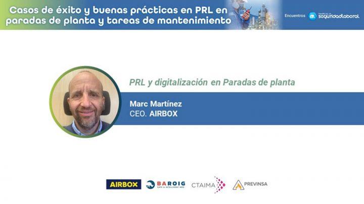 Marc Martínez, CEO de Airbox.