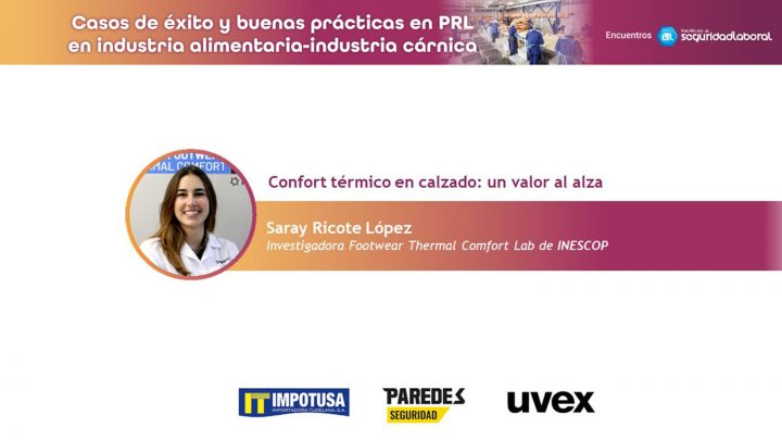 Saray Ricote López, investigadora Footwear Thermal Comfort Lab de Inescop.